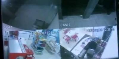 Tentativa de roubo a panificadora