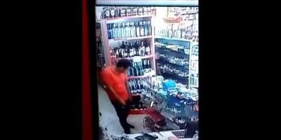 Suspeito furto celular