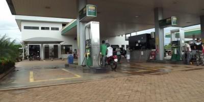Assalto em Posto de combustível em Rolim de Moura