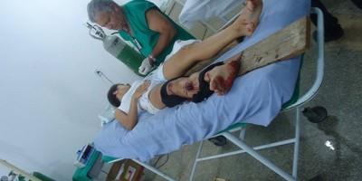 Carretinha se desprende do engate e causa grave acidente em Tarilândia
