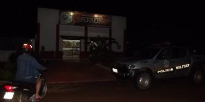 Assalto a uma Padaria  no Bairro Cidade Alta em Rolim de Moura.