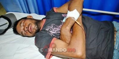 Foragido da justiça é picado por cobra e é salvo pela PM, em Ji-Paraná
