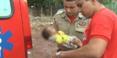 Rolim de Moura - Recém-nascido é encontrado em estado de desamparo total