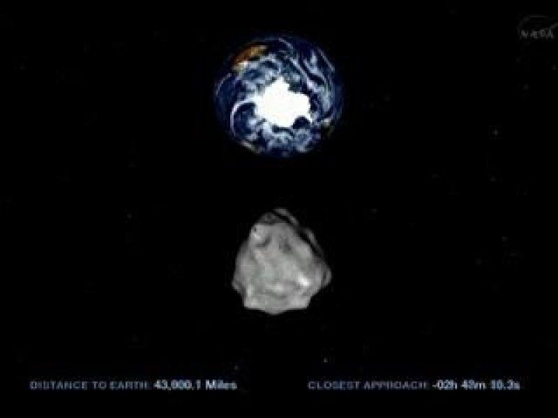 Mundo - Asteroide 2012 DA14 já passou por ponto próximo da Terra, diz Nasa