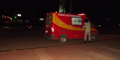 Rolim De Moura - Bombeiros Atendem Outro Acidente De Trânsito No Centro.