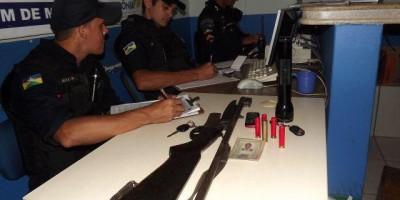 Homem é detido com arma de fogo pela Polícia Militar em Rolim de Moura