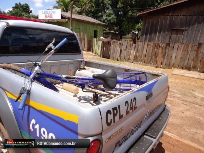 São Francisco do Guaporé - homem é preso com bicicleta furtada.