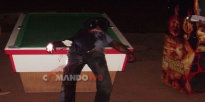 URUPÁ - Briga em bar termina em morte; Assassino fugiu ferido no pescoço