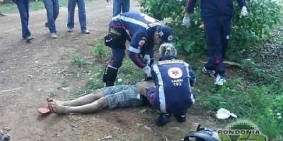 """Ariquemes - Homem é executado com quatro tiros no setor """"grande áreas"""""""