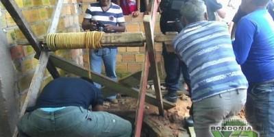 Gás Tóxico:Trabalhador é resgatado em estado grave do fundo do poço em Ariquemes
