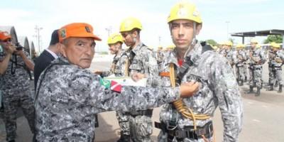 Rolim De Moura - Bombeiro da cidade é destaque na Força Nacional.