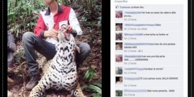 PORTO VELHO - Delegacia investiga foto de onça morta postada no Facebook