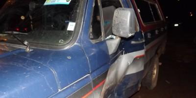Rolim de Moura - Moto e Carro se Envolvem Em Acidente De Trânsito..