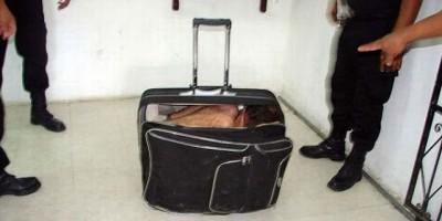 México - Se deu mal , Presidiário queria fugir dentro de mala e acabou sendo descoberto pelos agentes penitenciários