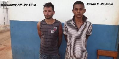 Rolim De Moura - Dois Homens São Detidos Pela Polícia Militar Por Tentativa De Furto.