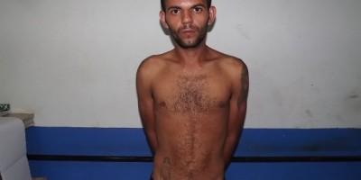Rolim de Moura – Polícia Militar prende suspeito de furto em flagrante