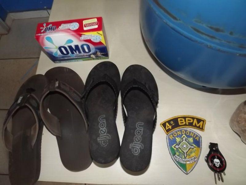 Rolim de Moura –  Menor Furta Residência, Mas é Detido Pela Polícia Militar.