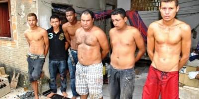 Ji-Paraná – PM prende quadrilha que estava aterrorizando comerciantes em Ji-Paraná; Armas, drogas e dinheiro foram encontradas com o bando