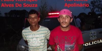 Rolim De Moura –  Após fuga pela cidade, dois homens são detidos pela PM e um deles tinha mandado de prisão.