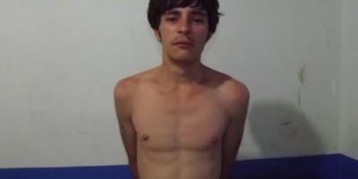 Rolim de Moura – Homem é detido pela PM por furto e ameaça de matar a própria mãe e o padrasto