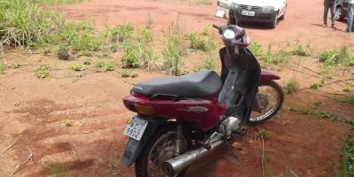 Rolim De Moura - Polícia Militar recupera outra motocicleta furtada.