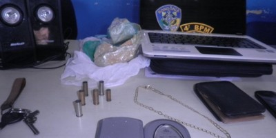 Rolim de Moura – Homem é detido com posse de drogas na zona rural