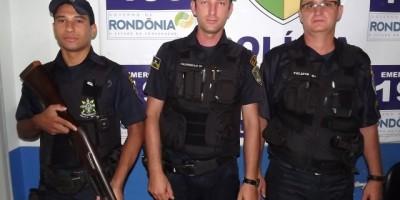 Nova Estrela – Após Acompanhamento Tático, Polícia Militar de Nova Estrela recupera carro que foi roubado em Rolim De Moura.