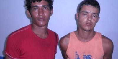 Rolim de Moura –  Após assalto, Polícia Militar detém dois suspeitos e recupera objeto