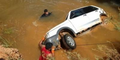 Jaru: Idoso morre ao cair em rio após perder o controle de seu veículo