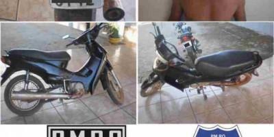 Pimenta Bueno :Radiopatrulha recupera motoneta roubada e prende receptador em Pimenta Bueno