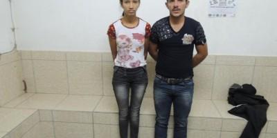 Presidente Médice - Duas pessoas de Rolim de Moura são detidas pela PM de Presidente Médice com moto roubada e arma de fogo