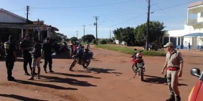 Rolim de Moura –  Acidente de trânsito no bairro Beira Rio