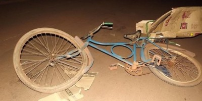Rolim de Moura –  Ciclista atropelado por moto na rua Rio Madeira
