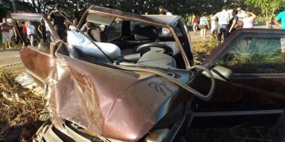 Novo Horizonte - Grave acidente de trânsito termina com uma vítima fatal em Novo Horizonte