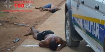 Ariquemes –  Elemento após esfaquear desafeto parte para cima de policiais e é alvejado a tiros e morre no local
