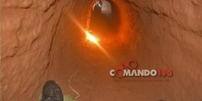 Ji-Paraná – Agentes Penitenciários descobrem túnel debaixo do Pavilhão A do Presídio Agenor Martins e evitam fuga em massa