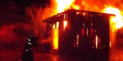 Rolim de Moura –  Mais um incêndio em residência registrado na cidade