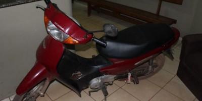Rolim de Moura –  Moto furtada por menor é recuperada pela Polícia Militar