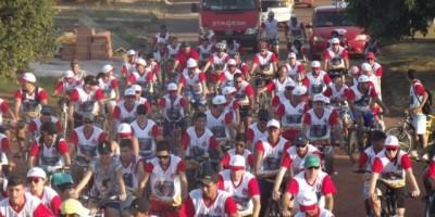 Rolim de Moura –  Primeiro passeio ciclístico realizado pelo Corpo de Bombeiros (FOTOS)