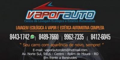 Rolim de Moura - Inaugura nesta Segunda-Feira 22 de Junho VAPORAUTO, novo conceito de lavagem automotiva