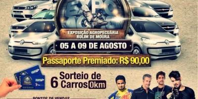 Expoagro começa nesta quarta-feira com show de Joaninha