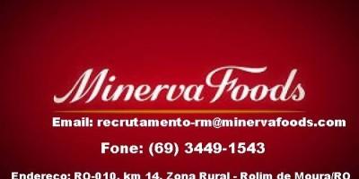 Rolim de Moura - Vagas de emprego Frigorífico Minerva
