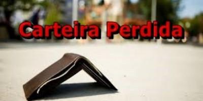 UTILIDADE PÚBLICA -  Carteira Perdida