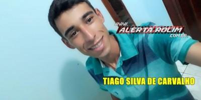 Familiares estão à procura de TIAGO SILVA DE CARVALHO, de 22 anos, desaparecido há mais de uma semana
