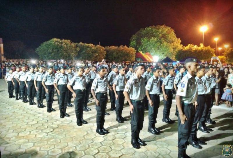 Polícia Mirim do 10º BPM em Alto Alegre realiza atividades nas escolas na Semana da Pátria e expressivos resultados do Programa Social são demonstrados