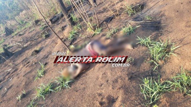 Rolim de Moura – Urgente! Homem com sinais possivelmente de perfuração de faca é encontrado morto, no Setor Chacareiro