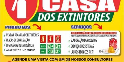 Rolim de Moura e região conta com a Casa dos Extintores