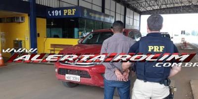 URGENTE - Caminhonete Hilux roubada na linha 180 é recuperada pela PRF em Comodoro, Mato Grosso