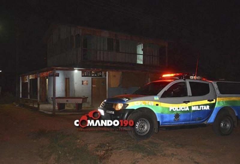 Comerciante é morto a tiros dentro do próprio bar, em Ji-Paraná