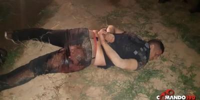 Ji-Paraná - Homem mata desafeto dentro do parque de exposições e acaba baleado ao apontar arma para PM's